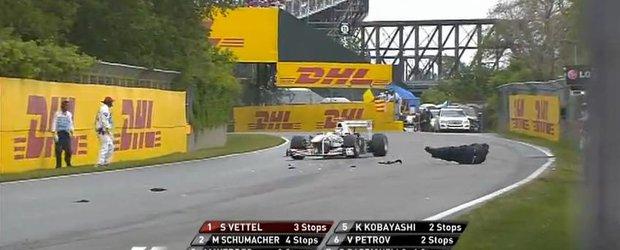 Dorel la Montreal Grand Prix - cel mai amuzant monitor de cursa din lume!