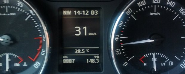 Dotari auto care iti salveaza viata: indicatorul temperaturii exterioare