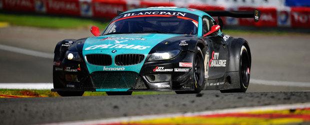 Doua BMW Z4 GT3 au urcat pe podium in cursa de 24 de ore de la Spa