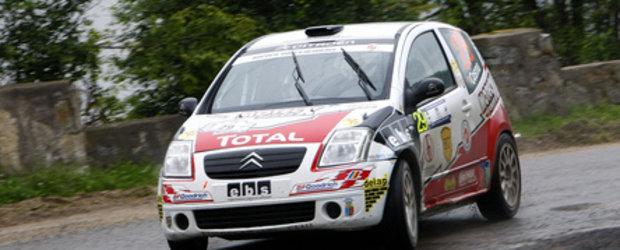 Doua echipaje Napoca Rally Academy pe podiumul grupei A la Raliul Clujului
