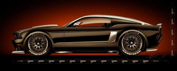 Doua noi proiecte Ford Mustang isi anunta aparitia la SEMA 2013
