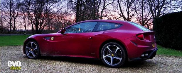 Doua saptamani si peste 3.000 kilometri la bordul noului Ferrari Four