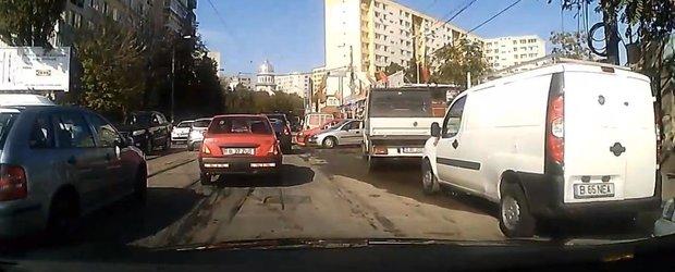 Dovada ca soferii din Bucuresti sunt absolut... de c#*@XX!