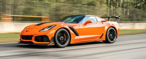 Dovada VIDEO ca noul ZR1 este cel mai rapid Corvette de serie din istorie. Uite cat de lejer atinge 345 km/h