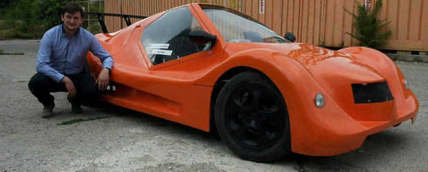 DoZoN Z0-1, masina-concept realizata de Sergiu Palade