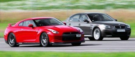 Drag Race: BMW M5 vs. Nissan GT-R (plus altele)