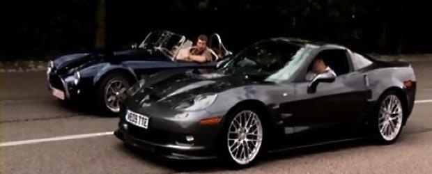 Drag Race: Corvette ZR1 vs. AC Cobra