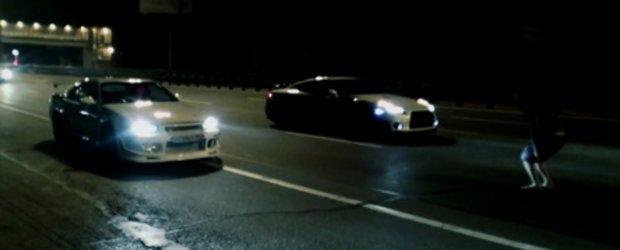 Drag Race: Nissan Skyline R34 (900 CP) versus Nissan GT-R (850 CP)