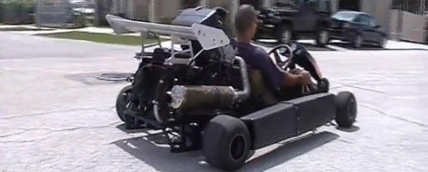 Draga Mos Craciun: vreau un kart cu motor de Honda CBR 900rr