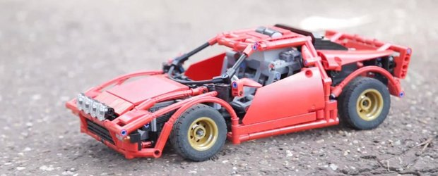 Draga Mos Craciun: vrem o Lancia Stratos din LEGO!