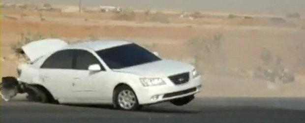 Drift Fail: Un arab invata o lectie pretioasa despre controlul masinii