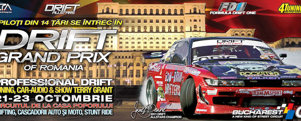 DRIFT GRAND PRIX se lanseaza in Romania! - 21-23 octombrie 2011
