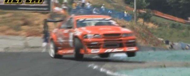 Drift in imponderabilitate: video extrem cu o masina de 800 de cai!