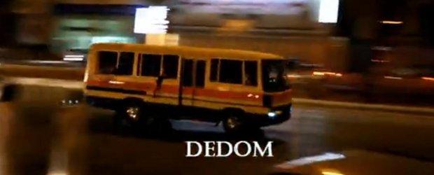 Drifturi cu autobuzul pe drumurile publice!