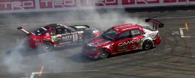 Drifturi la limita, cascadorii incitante, spectacol total pe circuitul Fuji Speedway