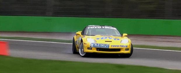 Drifturi senzationale la bordul extremului Chevrolet Corvette ZR1