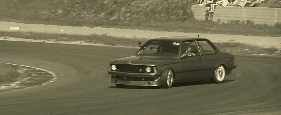Drifturi spectaculoase cu un BMW Seria 3 de 1.000 cai putere. VIDEO AICI!