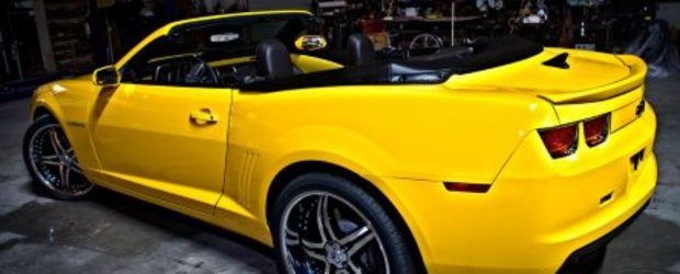 Drop Top Customs tuneaza Chevrolet Camaro