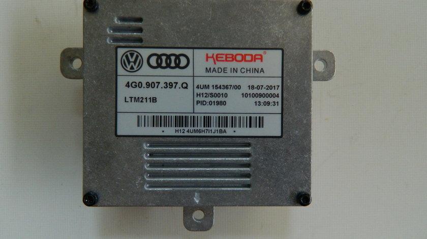 Droser Balast Xenon Modul  LED Audi A1 A3 A6 Q3 R8 RS3 RS6 cod 4G0907397Q