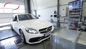 DTE-Systems modifica noul Mercedes C63 AMG