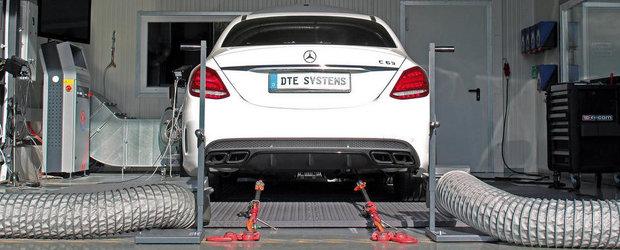 DTE-Systems stoarce noul Mercedes C63 AMG de 595 CP si 825 Nm