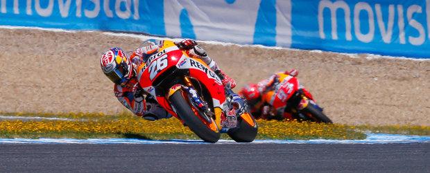 Dubla Repsol Honda in cursa de la Jerez. Jorge Lorenzo completeaza podiumul