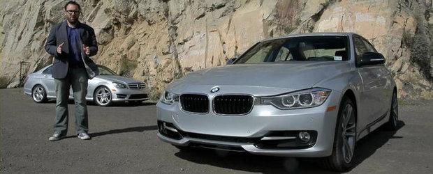 Duel in clasa medie: BMW 328i versus Mercedes C250