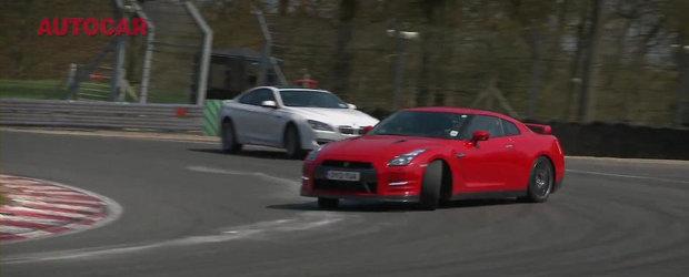 Duel pe circuit: Alpina B6 versus Nissan GT-R