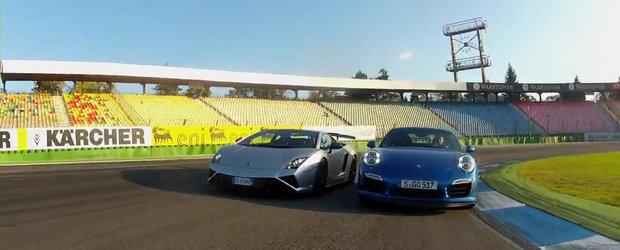 Duel pe circuit: Lamborghini Squadra Corse vs Porsche 911 Turbo S