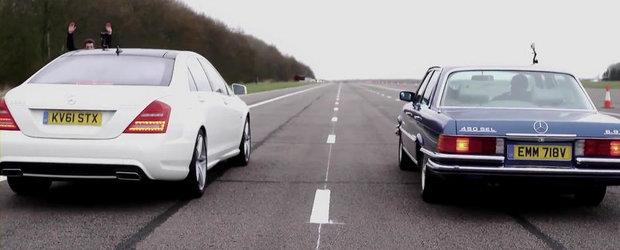 Duelul generatiilor: Mercedes S350 CDI versus Mercedes 450 SEL