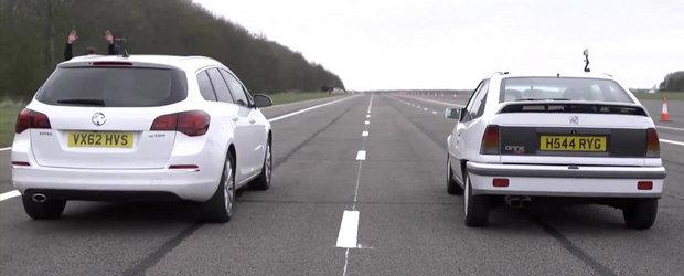 Duelul generatiilor: Opel Astra Sports Tourer CDTI versus Opel Astra GTE