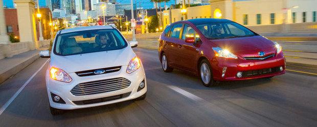 Duelul hibrizilor: Ford C-Max versus Toyota Prius V