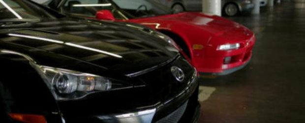Duelul legendelor japoneze: Honda NSX versus Lexus LFA