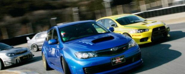 Duelul Samurailor: Subaru si Mitsubishi la Tsukuba