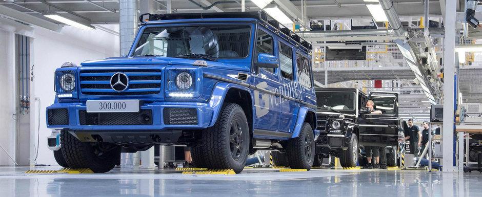 Dupa 38 de ani de istorie, Mercedes-ul G-Class a ajuns la exemplarul cu numarul 300.000