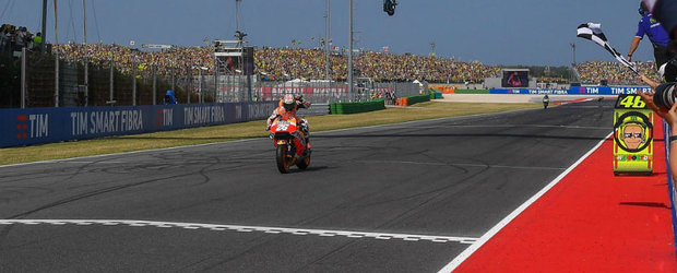 Dupa cea mai buna cursa a sa din acest sezon, Dani Pedrosa castiga Marele Premiu al Statului San Marino la MotoGP