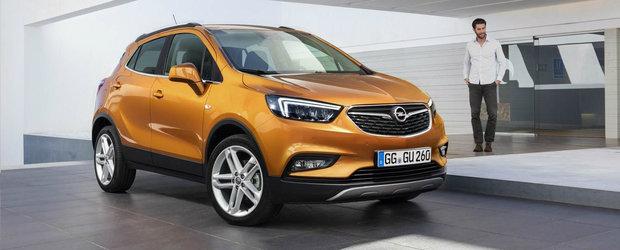 Dupa trei luni de asteptare, noul Opel Mokka X ajunge la vanzare. Pretul de pornire al crossoverului german
