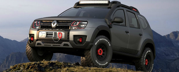 Duster Extreme este off-roader-ul pe care l-ai vrea oricand la tine in garaj. Pacat ca nu va intra in productie