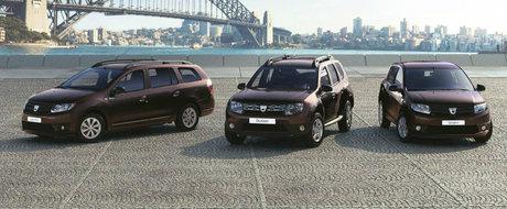 Duster ramane cea mai exportata masina din Romania, Logan ramane cel mai vandut model in Romania