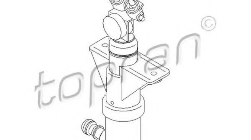 Duza,spalare faruri AUDI A6 (4B2, C5) (1997 - 2005) TOPRAN 111 411 piesa NOUA