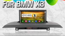 DVD AUTO NAVIGATIE ANDROID DEDICATA BMW X3 E83 WIT...