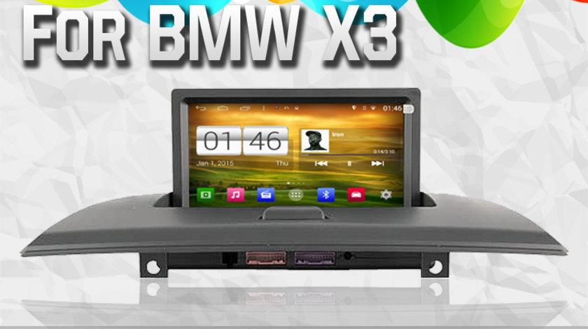DVD AUTO NAVIGATIE ANDROID DEDICATA BMW X3 E83 WITSON W2-M103 PLATFORMA S160 PROCESOR QUADCORD 16GB