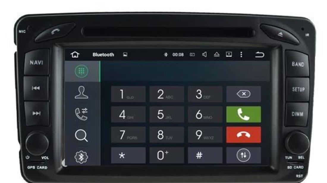 DVD Auto Navigatie Android Dedicata Mercedes CLASA A, A CLASS Carkit USB NAVD-P068