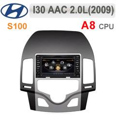 DVD AUTO NAVIGATIE DEDICATA HYUNDAI I30 2007 - 2012 CLIMA AUTOMATA WITSON W2-C043 PLATFORMA S100