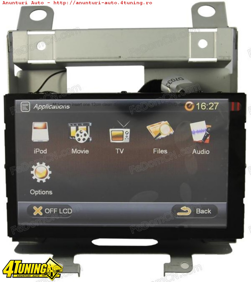 dvd auto navigatie dedicata land rover freelander 2 discovery 3 gps tv carkit usb divx model. Black Bedroom Furniture Sets. Home Design Ideas