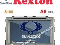 DVD Auto Navigatie Dedicata Ssangyong Rexton EDT 269 Platforma S100 Procesor Dual Core A8 1ghz 512 Ddr 2 Dvd Gps Tv Dvr Carkit Preluare Agenda Telefonica Model 2014