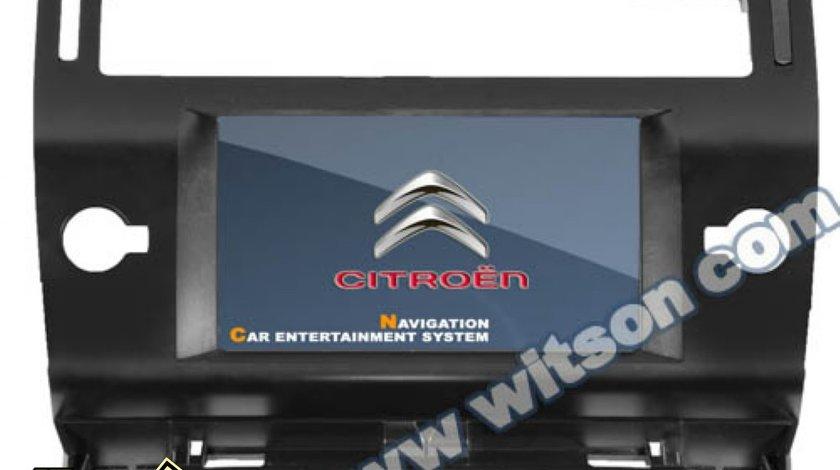 Dvd Auto Navigatie Witson W2-D9956CI Dedicata CITROEN C4 Internet 3g Wifi Dvd Gps Carkit Tv Comenzi Pe Volan Model 2013