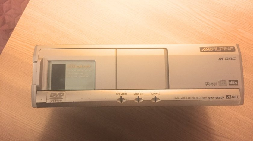DVD-CD changer DTS ALPINE DHA-S680P made in Japan