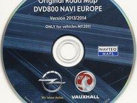 DVD CD navigatie Opel Insignia Astra Cd500 Dvd800 harti navigatie 2014