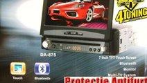 DVD CU ECRAN RETRACTABIL 7'' FATA DETASABILA TV TU...